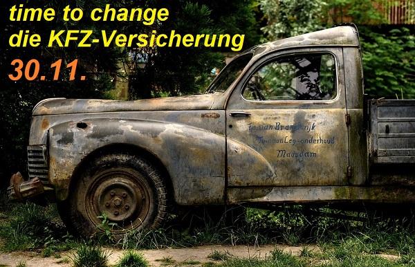 time to change die KFZ-Versicherung