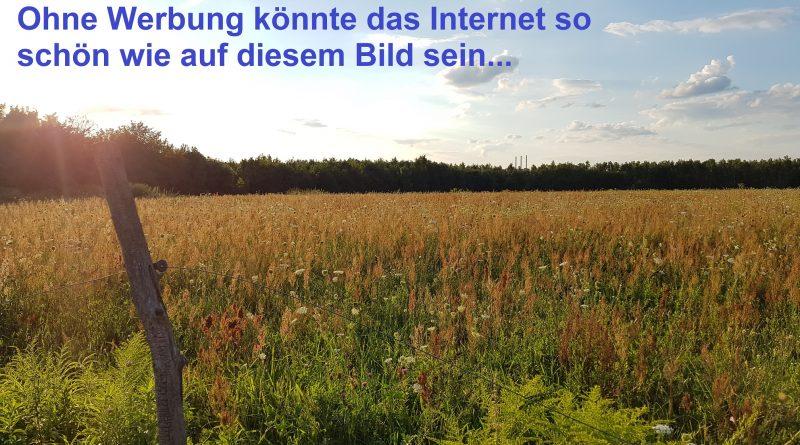 Internet ohne Werbung
