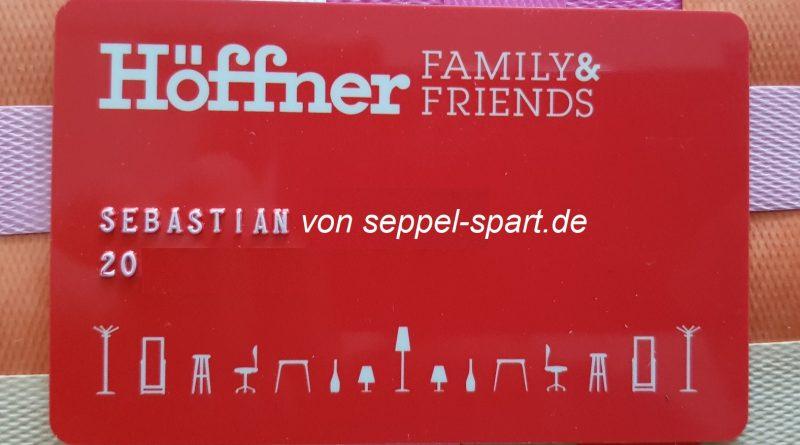 Kundenkarte von Möbel Höffner