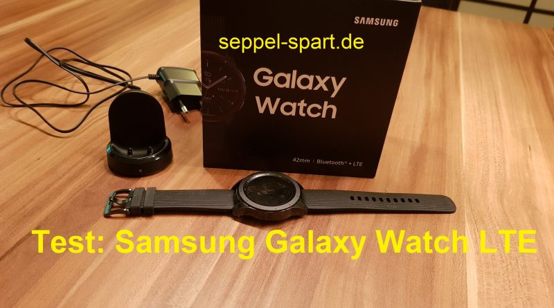 VIDEO: Test Samsung Galaxy Watch LTE