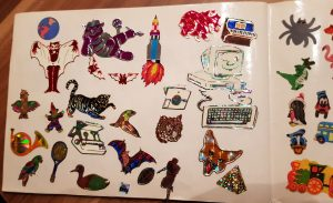 Meine Sticker von 1994