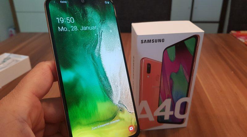 Review und Test zum Samsung Galaxy A40