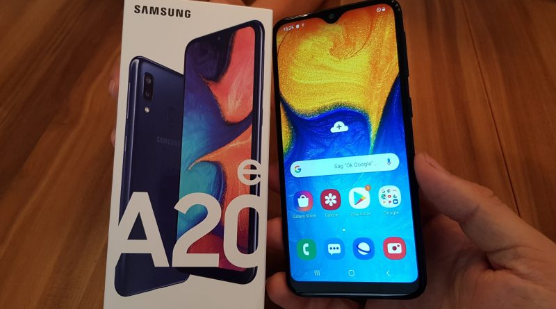 Hands ON Samsung Galaxy A20e