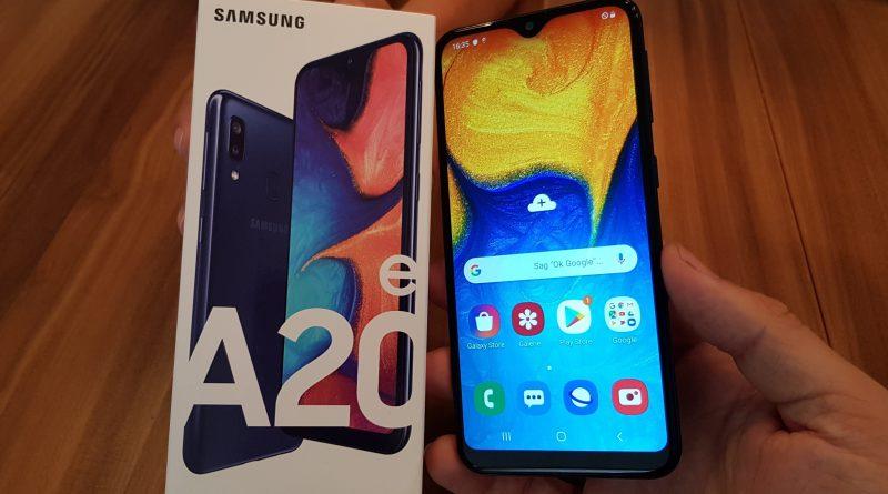 Hands ON Samsung Galaxy A20e