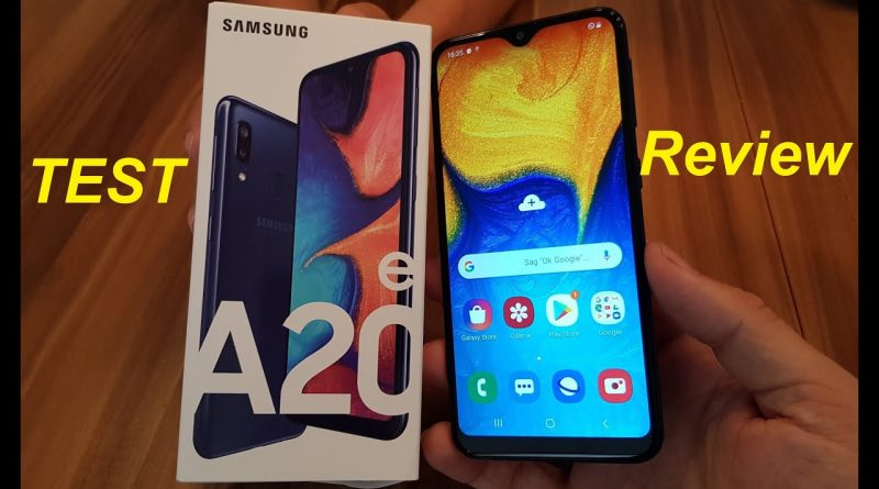 Review und Test zum Galaxy A20e