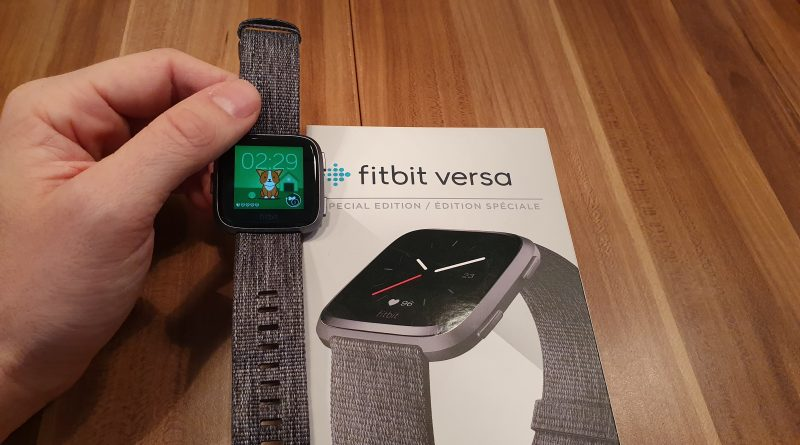 Review + Test zur Fitbit Versa Special Edition