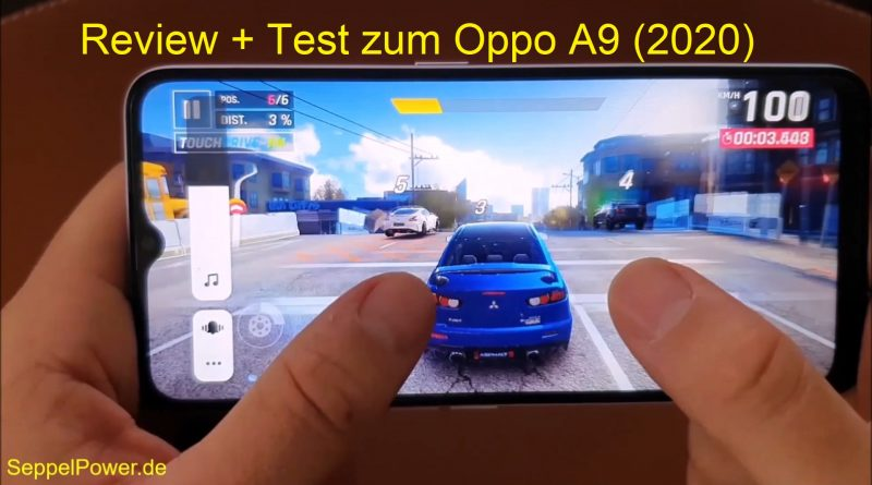 Review + Test zum Oppo A9 2020