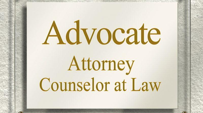 ein Rechtsanwalt hilft weiter