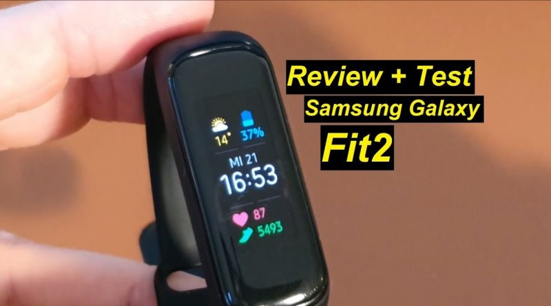 Review + Test zur Samsung Galaxy Fit2