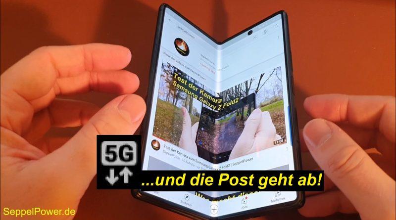 Erstes Mal 5G! Mit dem Samsung Galaxy Z Fold2